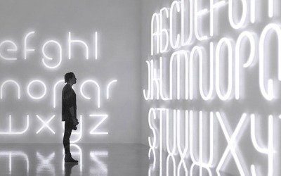 Big Alphabet of light – Artemide